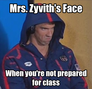 Mrs. Zyvith's Face