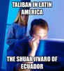 Taliban in Latin America The Shuar Jivaro of Ecuador