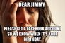 dear jimmy,